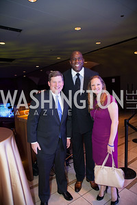 David French, Magic Johnson, Ellen Davis