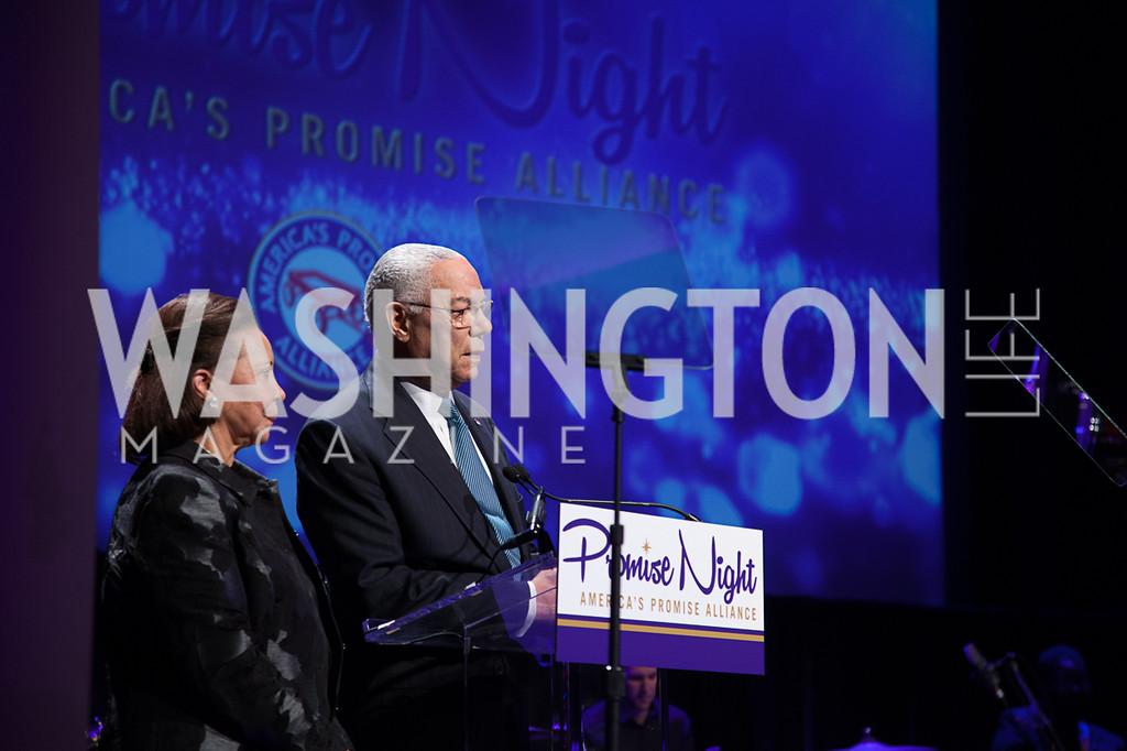 Alma Powell, Colin Powell