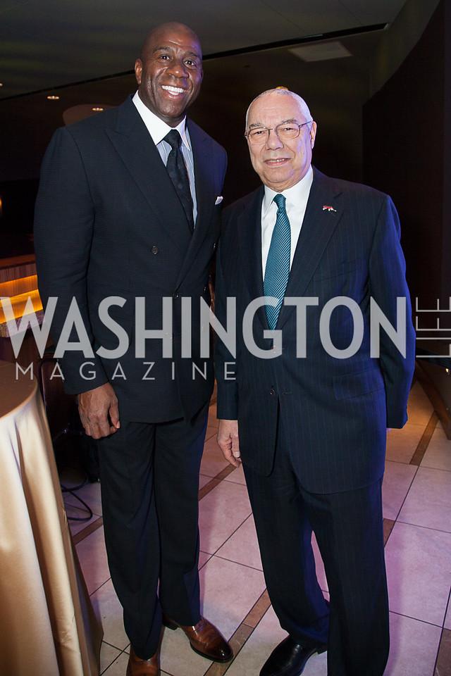 Magic Johnson, Colin Powell