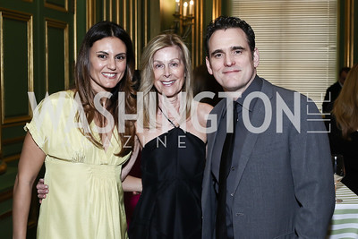 Roberta Mastromichele, Eileen Shields West, Matt Dillon. Photo by Tony Powell. RI's 37th Annual Dinner Mellon Auditorium. April 26, 2016