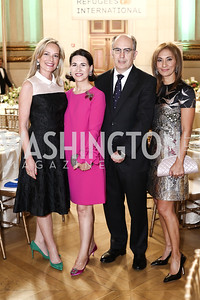 Mariella Trager, Casilda Hevia and Spanish Amb. Jorge Hevia, Marisol LaMadrid. Photo by Tony Powell. RI's 37th Annual Dinner Mellon Auditorium. April 26, 2016