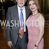 Barbados Amb. John Beale and Leila Beale. Photo by Tony Powell. RI's 37th Annual Dinner Mellon Auditorium. April 26, 2016