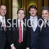 David Grimaldi, Amb. Gordon Giffin, Lyndon Boozer, Mike Maceroni. Photo by Tony Powell. RI's 37th Annual Dinner Mellon Auditorium. April 26, 2016