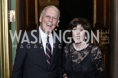 Walter Cutler, DeDe Cutler. Photo by Tony Powell. RI's 37th Annual Dinner Mellon Auditorium. April 26, 2016
