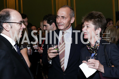 Thomas Krähenbühl and Dorothy Kosinski. Photo by Tony Powell. RI's 37th Annual Dinner Mellon Auditorium. April 26, 2016