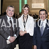 Azerbaijan Amb. Elin Suleymanov, Lala Abdurahimova, Vali Nasr. Photo by Tony Powell. RI's 37th Annual Dinner Mellon Auditorium. April 26, 2016