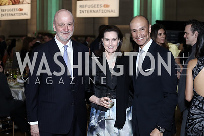Spain Amb. Ramon Gil Casares, Alexandra de Borchgrave, Roderick Von Lipsey. Photo by Tony Powell. RI's 37th Annual Dinner Mellon Auditorium. April 26, 2016