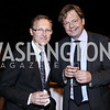 Latvia Amb. Andris Razans, German Deputy Amb. Philipp Ackermann. Photo by Tony Powell. Reopening of the Residence of Norway. April 21, 2016