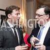 Denmark Amb. Lars Lose, Iceland Amb. Geir Haarde. Photo by Tony Powell. Reopening of the Residence of Norway. April 21, 2016