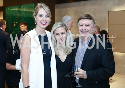 Sara Beckstead, Erica Strudler, Lew Strudler. Photo by Tony Powell. 2016 Rolex Baselworld Event. L&B. June 21, 2016