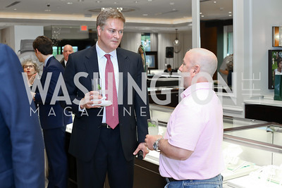 Miles Powell, Robert Kaplan. Photo by Tony Powell. 2016 Rolex Baselworld Event. L&B. June 21, 2016