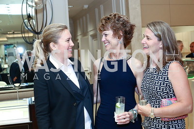 Erin Kilday, Ellen Kidwell, Kate Pineda. Photo by Tony Powell. 2016 Rolex Baselworld Event. L&B. June 21, 2016