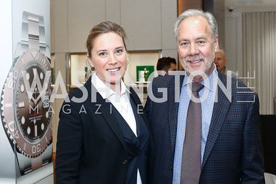 Erin Kilday, Tom Liljenquist. Photo by Tony Powell. 2016 Rolex Baselworld Event. L&B. June 21, 2016