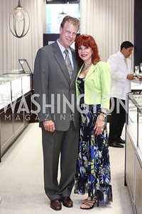 Deborah Fugas, Dan McCusker. Photo by Tony Powell. 2016 Rolex Baselworld Event. L&B. June 21, 2016
