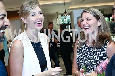 Sara Beckstead, Kate Pineda. Photo by Tony Powell. 2016 Rolex Baselworld Event. L&B. June 21, 2016