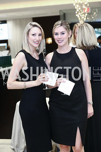 Lauren Witchie, Lindsey Witchie. Photo by Tony Powell. 2016 Rolex Baselworld Event. L&B. June 21, 2016