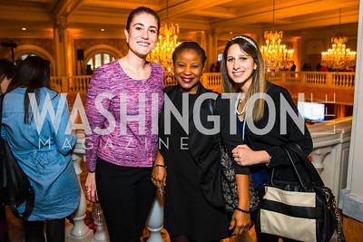 Kristen McAvoy, Midya McPherson, Valeria Massarelli. Photo by Alfredo Flores. Running Start's 10th Annual Women to Watch. National Museum of Women in the Arts.CR2
