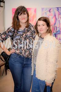 Svetlana Legetic, Morgan West, S & R Studio Art Foundation VIP Preview, Halcyon House, December 7, 2016. Photo by Ben Droz
