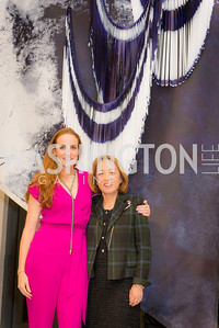 Dr. Sachiko Kuno, Kate Goodall, S & R Studio Art Foundation VIP Preview, Halcyon House, December 7, 2016. Photo by Ben Droz