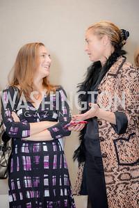 Rachel Goslins, Ami Aronson, S & R Studio Art Foundation VIP Preview, Halcyon House, December 7, 2016. Photo by Ben Droz
