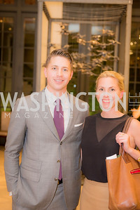 Evan Rowland, Laura Gail Smith, S & R Studio Art Foundation VIP Preview, Halcyon House, December 7, 2016. Photo by Ben Droz