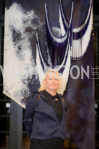 Grethe Wittrock, S & R Studio Art Foundation VIP Preview, Halcyon House, December 7, 2016. Photo by Ben Droz