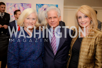 Caroline Croft, Don Friedman, Rhona Friedman,  S & R Studio Art Foundation VIP Preview, Halcyon House, December 7, 2016. Photo by Ben Droz