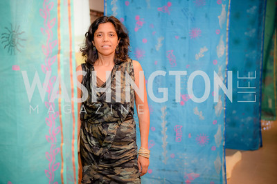 Monica Jahan Bose, S & R Studio Art Foundation VIP Preview, Halcyon House, December 7, 2016. Photo by Ben Droz