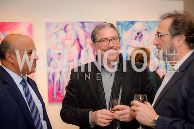 David Gorodetski,  S & R Studio Art Foundation VIP Preview, Halcyon House, December 7, 2016. Photo by Ben Droz