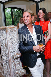 Marc Cipullo. Photo by Tony Powell. Septime's Farewell. Residence of France. June 6, 2016