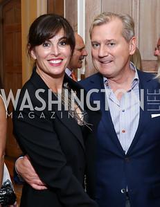 Michelle Freeman, Mark McFadden. Photo by Tony Powell. Septime's Farewell. Residence of France. June 6, 2016