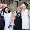 Jack Evans, Sylvia de Leon, Rhona Wolfe Friedman, Susan Harreld, Arthur Espinoza. Photo by Tony Powell. Septime's Farewell. Residence of France. June 6, 2016