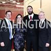 Steve and Blair Raber, Jayson Werth, CNMC CEO Dr. Kurt Newman. Photo by Tony Powell. 2016 Shine a Light on Celiac Disease Gala. Nationals Park. January 30, 2016