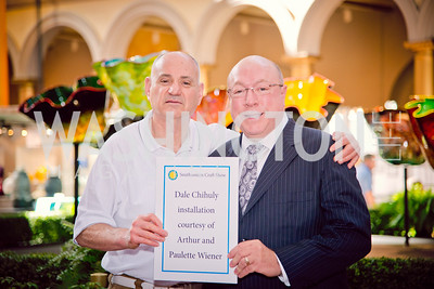 Arthor Wierner, Ken Evans, Smithsonian Craft Show, National Building Museum, April 20, 2016, photo by Ben Droz.