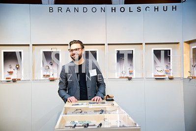 Brandon Holschuh, Smithsonian Craft Show, National Building Museum, April 20, 2016, photo by Ben Droz.
