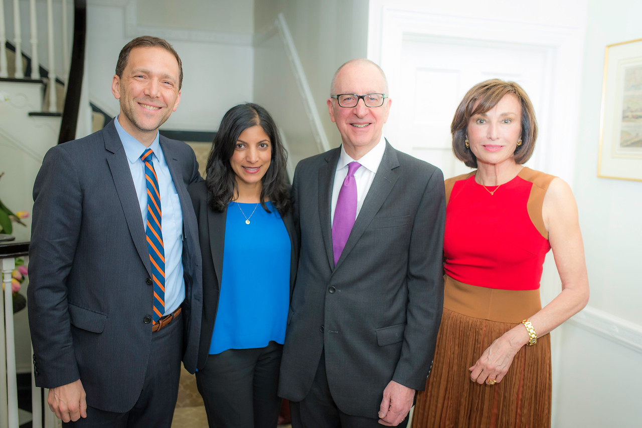 Peter Selfridges, Mrs. Parita Shah, Dr. David Skorton,