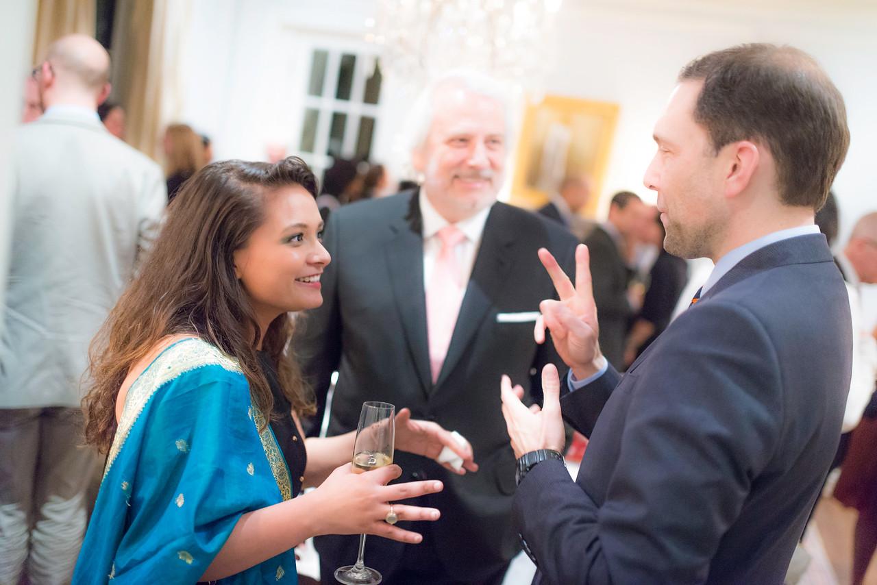 Ms. Aakriti Khanal, Peter Selfridge, Maestro Philippe Auguin,