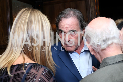 "Oliver Stone. Photo by Tony Powell. ""Snowden"" Screening After Party. Chez Billy Sud. September 7, 2016"