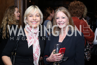 "Francesca Craig, Janet Donovan. Photo by Tony Powell. ""Snowden"" Screening After Party. Chez Billy Sud. September 7, 2016"
