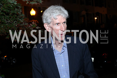 """Gareth Porter. Photo by Tony Powell. """"Snowden"""" Screening After Party. Chez Billy Sud. September 7, 2016"""