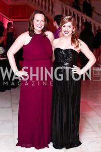 Colleen Carroll, Amanda Van Pelt. Photo by Tony Powell. 2016 SOME Jr. Gala. Women's Museum. February 5, 2016