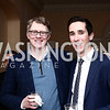 """Tom Monahan, Allen Gannett. Photo by Tony Powell. Steve Case """"The Third Wave"""" Book Party. Bradley Residence. March 30, 2016"""