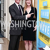 """Fred Ryan, Genevieve Ryan. Photo by Tony Powell. Steve Case """"The Third Wave"""" Book Party. Bradley Residence. March 30, 2016"""