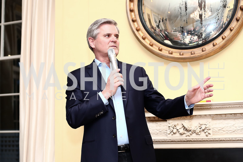 "Steve Case. Photo by Tony Powell. Steve Case ""The Third Wave"" Book Party. Bradley Residence. March 30, 2016"