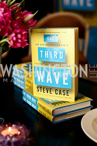 """Photo by Tony Powell. Steve Case """"The Third Wave"""" Book Party. Bradley Residence. March 30, 2016"""