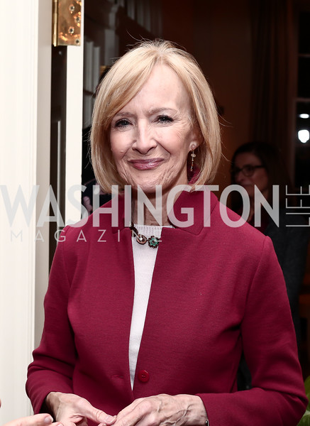 "Judy Woodruff. Photo by Tony Powell. Steve Case ""The Third Wave"" Book Party. Bradley Residence. March 30, 2016"