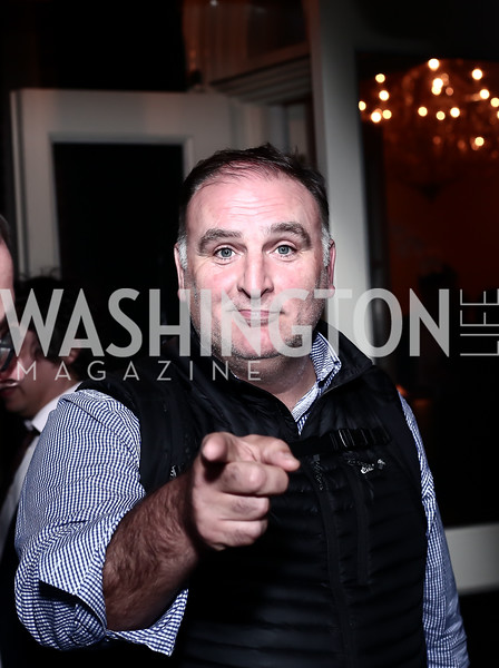 "Jose Andres. Photo by Tony Powell. Steve Case ""The Third Wave"" Book Party. Bradley Residence. March 30, 2016"