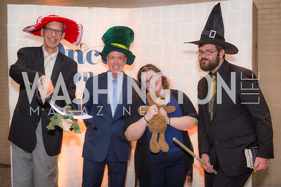 Bill Turner, George McCarthy, Michelle, Story Time Gala Reception at the DC Martin Luther King Public Library ,  March 16, 2016.  Photo by Ben Droz.
