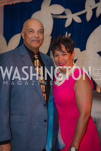 Jeff Graves-Gilbane, Linda Graves-Gilbane, Story Time Gala Reception at the DC Martin Luther King Public Library ,  March 16, 2016.  Photo by Ben Droz.