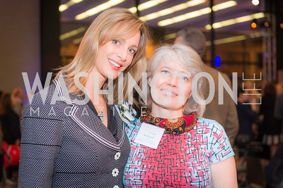 Jessica Hansen, Sara Cormeny, Story Time Gala Reception at the DC Martin Luther King Public Library ,  March 16, 2016.  Photo by Ben Droz.
